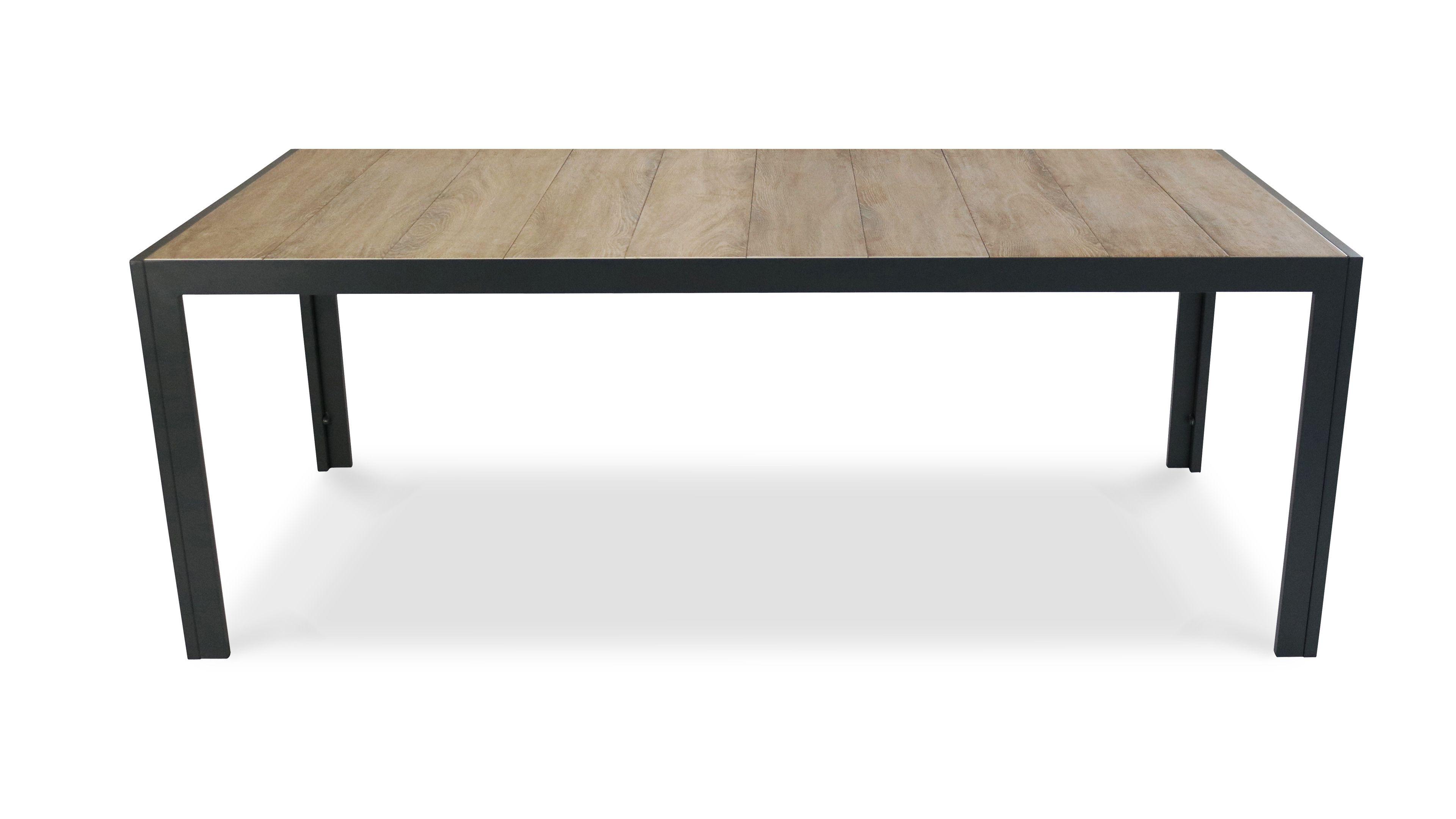 Table De Jardin Aluminium Et Ceramique Table De Jardin Mobilier