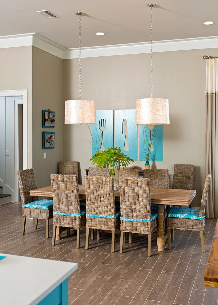 Crown Moulding Ideas In Dining Room Contemporary With Molding Beach Home