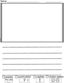 Kindergarten Opinion Writing Paper Opinion Writing Opinion