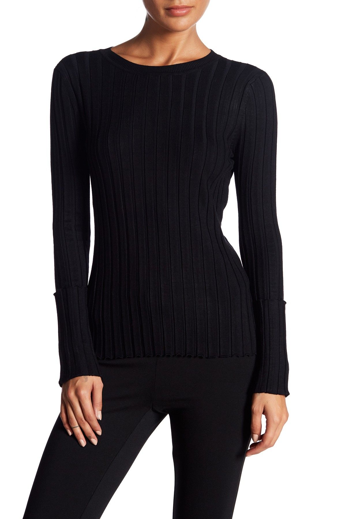 Philosophy Apparel Wide Ribbed Cuffed Sweater Nordstrom Rack Sweaters Clothes Fashion
