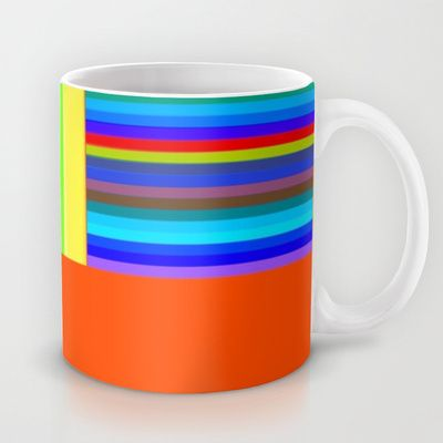 Re-Created  Parquet 3 Mug by Robert S. Lee - $15.00