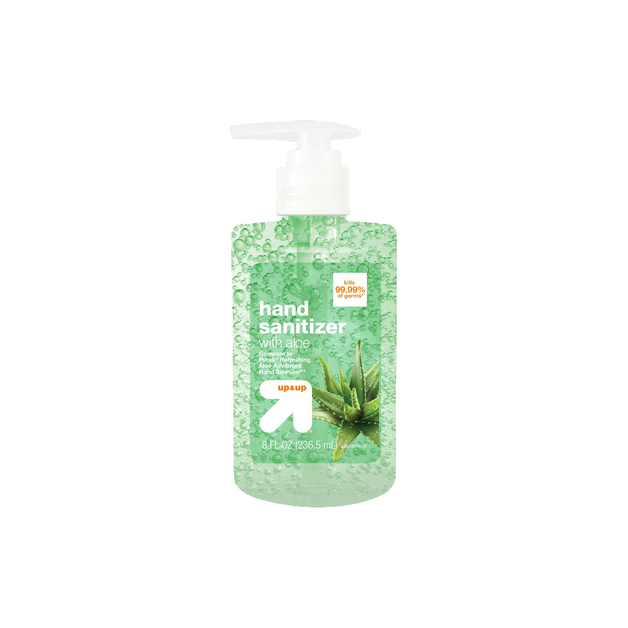 Aloe Hand Sanitizer Gel 8 Fl Oz Up Up Compare To Purell