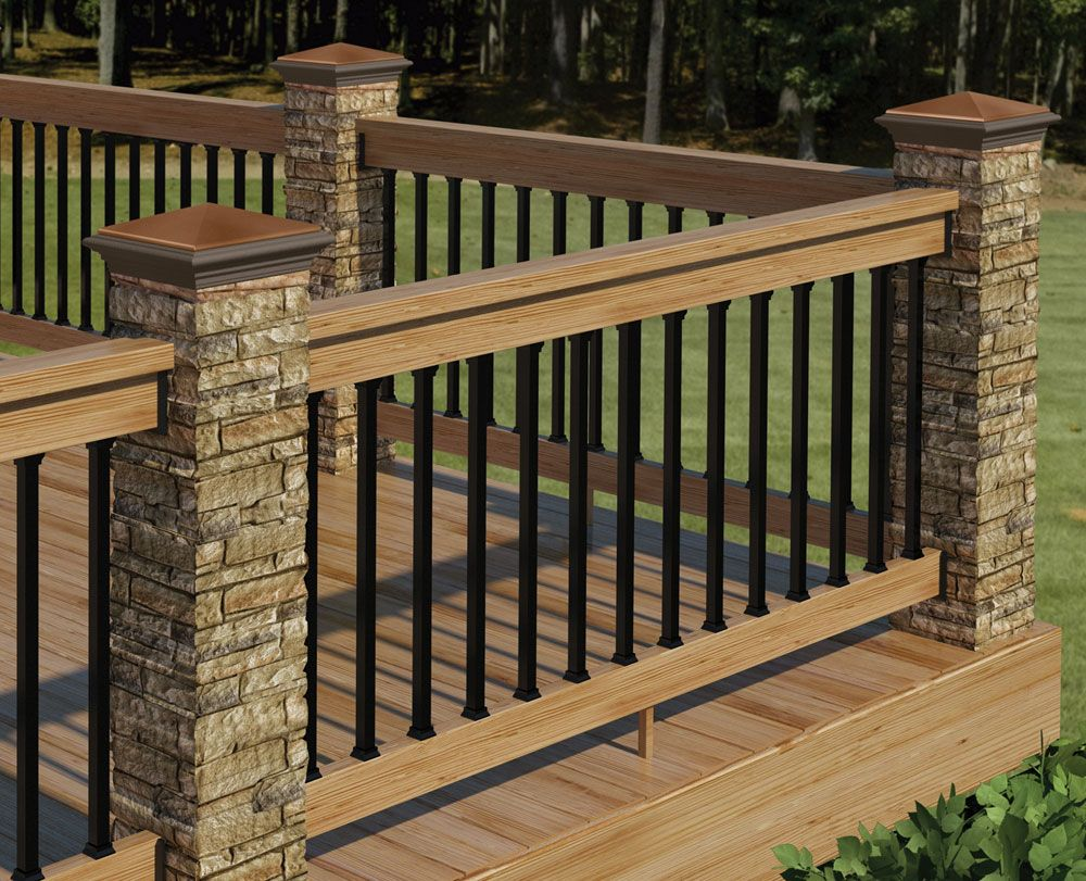 Information Of Wood Deck Railing Interior And Exterior Home