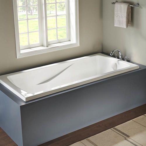 Eljer Lasalle Xl 72 X 36 White 10 Jet Massage Whirlpool Bathtub