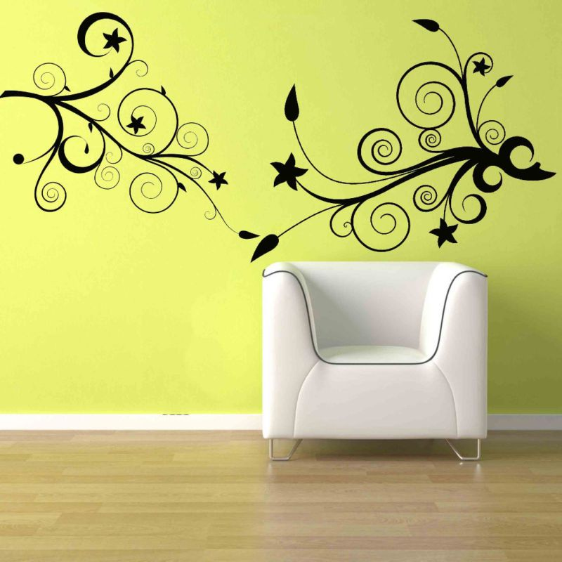 Simple Design Wall Deco Home Decor Wall Murals