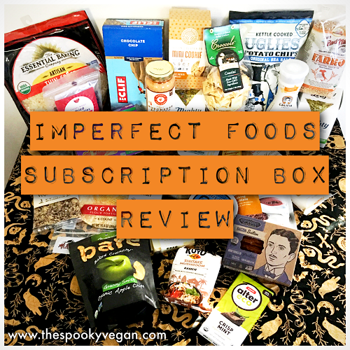 The Spooky Vegan Imperfect Foods Subscription Box Review