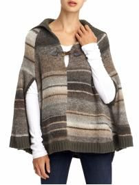 There's a chill in the air ...Poncho! Sanctuary Stripe Poncho Piperlime.com $152.00