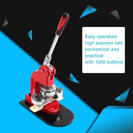 1pc 5 8cm Badge Punch Press Maker Machine With 1000 Circle