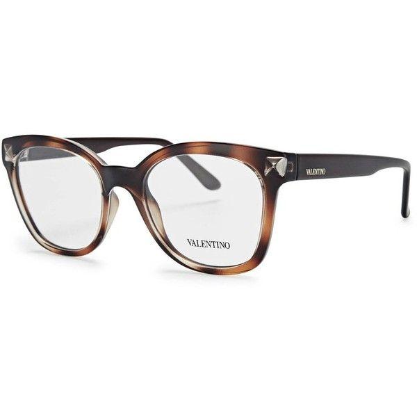 5d6e8f30c8 Womens Optical Frames Valentino Tortoiseshell Wayfarer-style Optical...  ( 235) ❤