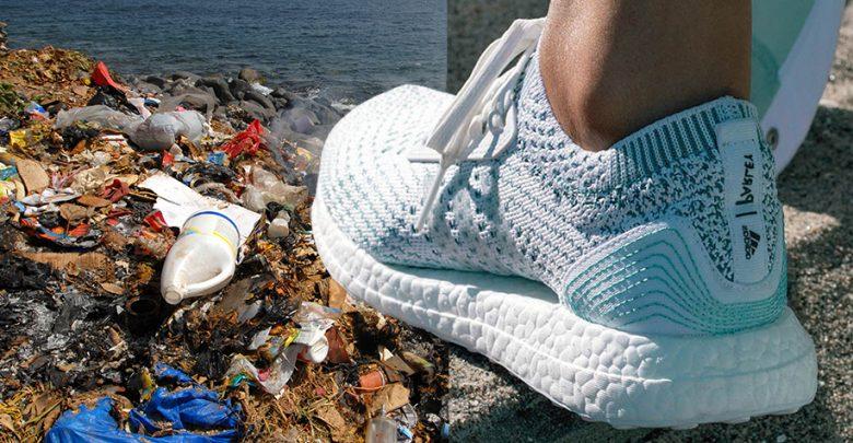 scarpe adidas plastica oceani