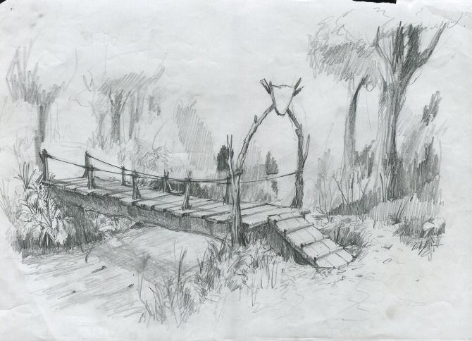 bridge to terabithia drawings - Google Search | Bridge to Teribithia ...
