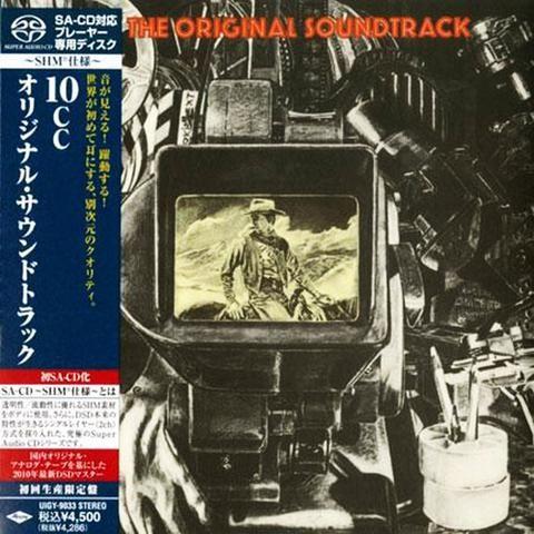 10CC - La banda sonora original - Japón mini LP SACD-SHM - UIGY-9033 - CD