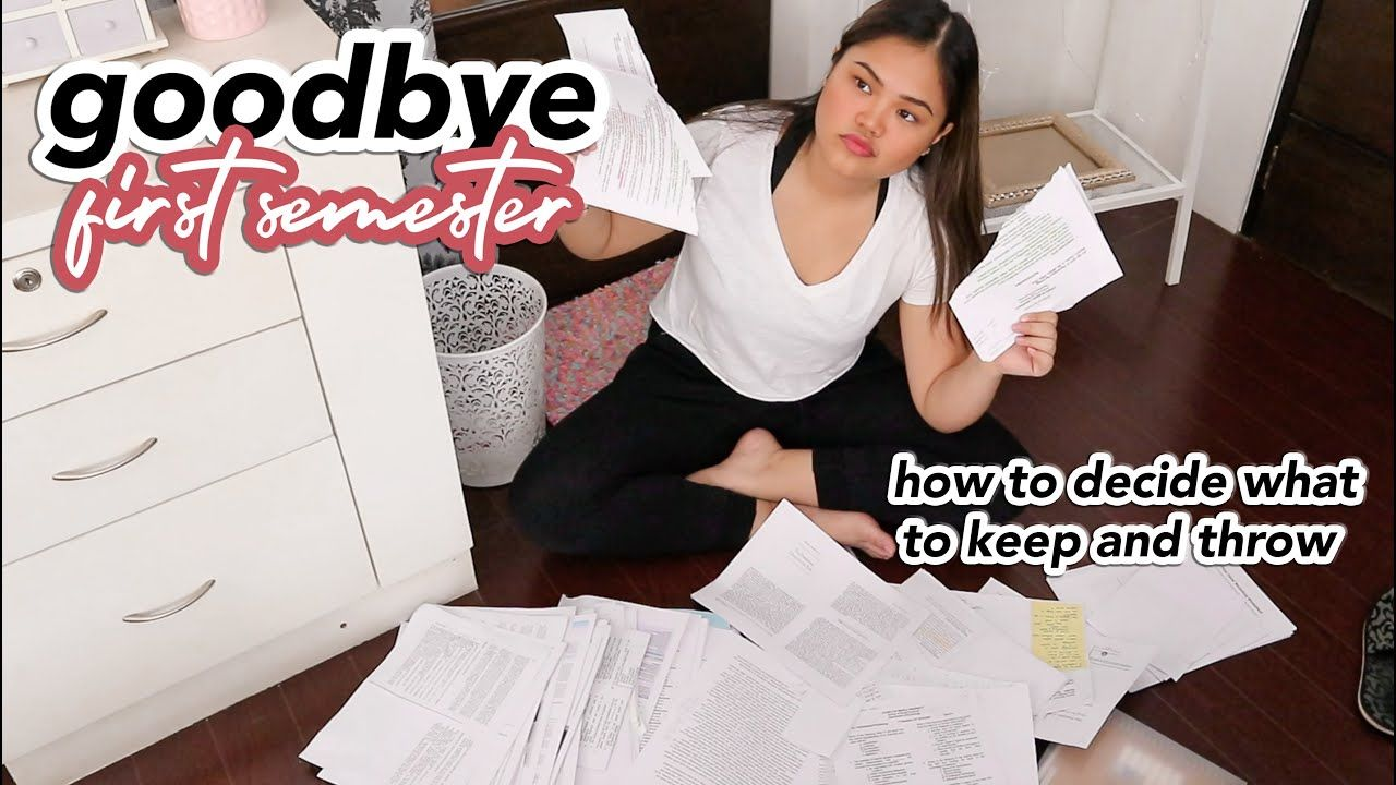 what paperwork to keep and what to throw away