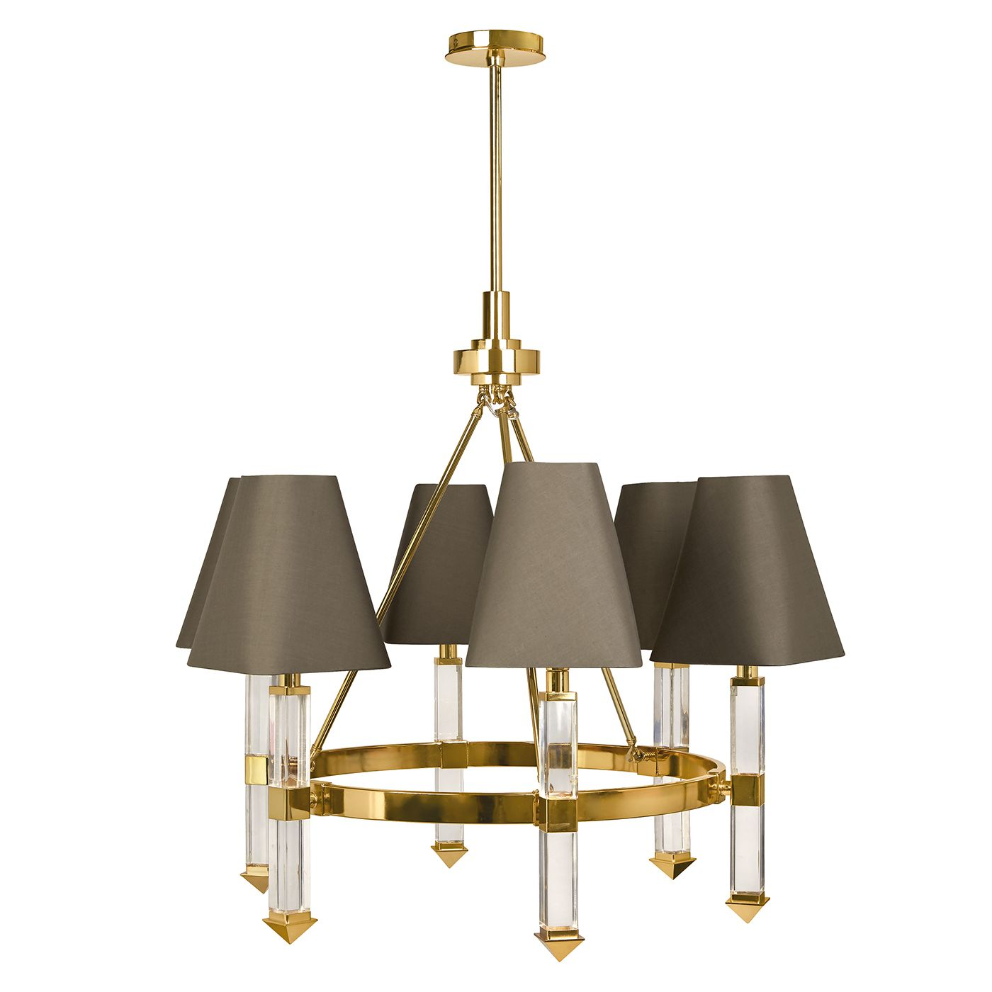 Jacques Six-Arm Chandelier | Modern Lighting | Jonathan Adler