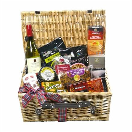 Glencoe Scottish Food Hamper - a collection of luxury treats from Scotland.