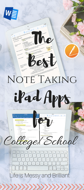 The Best College Note Taking Apps for iPad College note