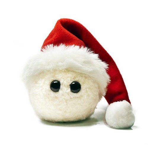 Natal - Kuschelkloß - o verdadeiro Turíngia Recheado Bolinho - artesanal peluches na Alemanha - grande presente Nicholas ou apenas para o Natal: Amazon.de: Brinquedos