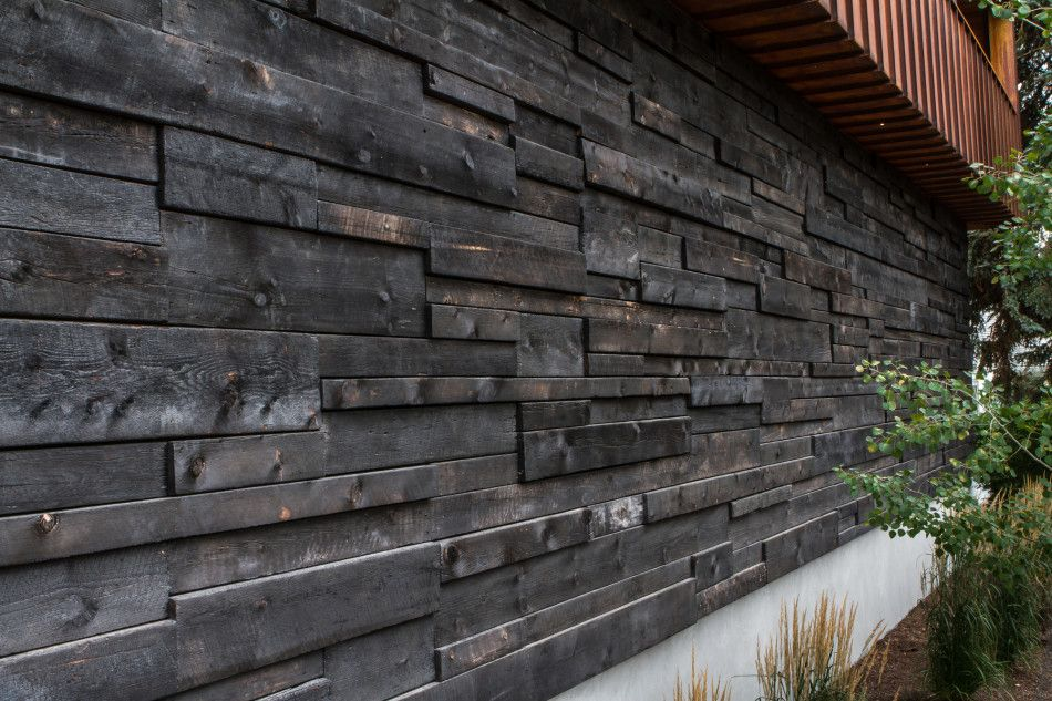 Wooden Cladding This Would Look Amazing In A Wood Mixture Color On Amazing Basement Wall Design Exterior