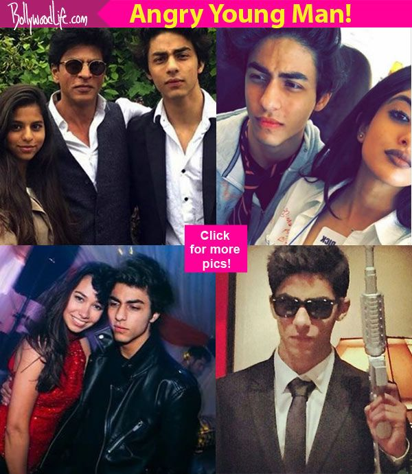 Heres 10 pictures of Aryan Khan that prove he can be the next angry young man like Amitabh Bachchan!