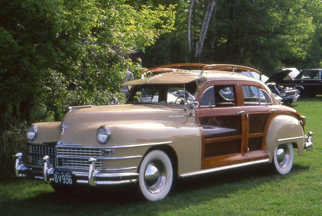 1948 Chrysler Town Country Sedan Classic Cars Trucks American