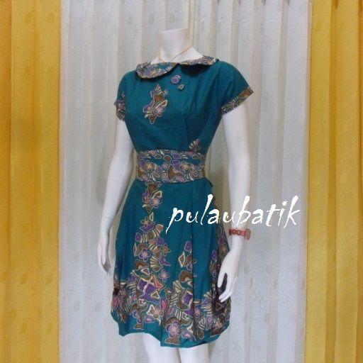 Kemeja Batik Gaul Wanita: Pin Oleh Mbak Ayu Di Model Dress Batik Modern Terbaru