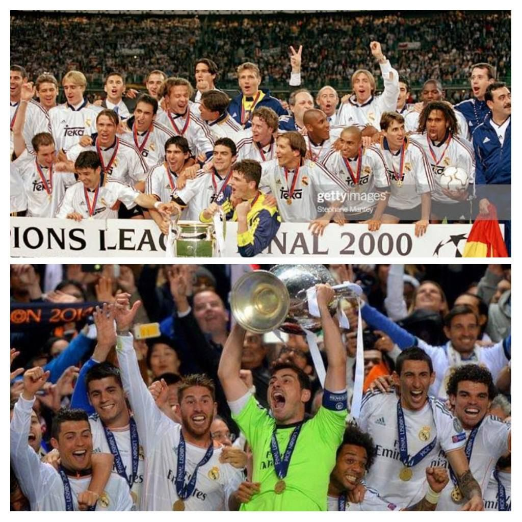 On This Day In 2000 Real Madrid Won Their 8th Ucl La Octava Title Beating Valencia 3 0 At Stade De France And On In 2020 Real Madrid Win Real Madrid Castilla Madrid