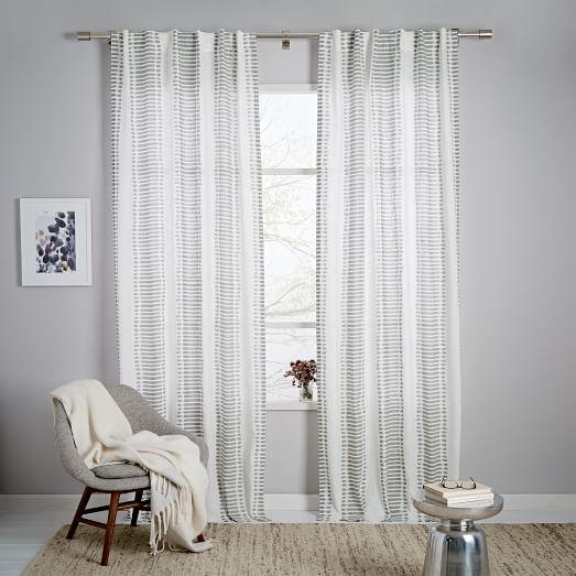 Amytis Curtain Curtains Living Room Ikat Curtains White Curtains