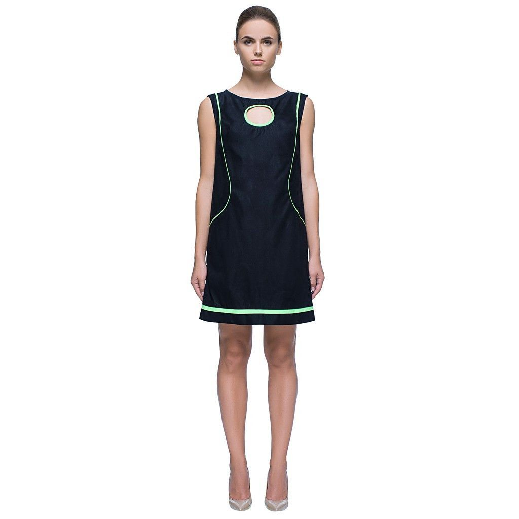 Miss strategyu short black sleeveless cut out dress products