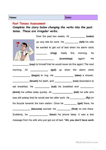 79124 Free Esl Efl Worksheets Made By Teachers For Teachers Irregular Past Tense Past Tense Past Tense Worksheet