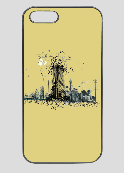 Funda de móvil personalizada con diseño de Nuri Pau. Ver más diseños de Nuri Pau: http://estoymuyvisto.com/?a=151&d=1197&c=81