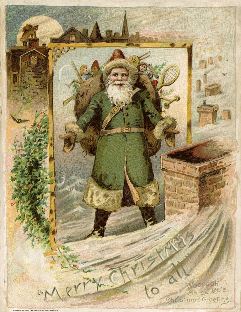 9 Christmas Eve Images - Victorian Trade Cards ...