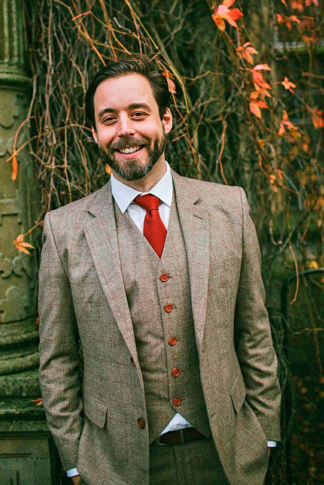 30 The Most Popular Groom Suits | Groom suit vintage, Wedding ...
