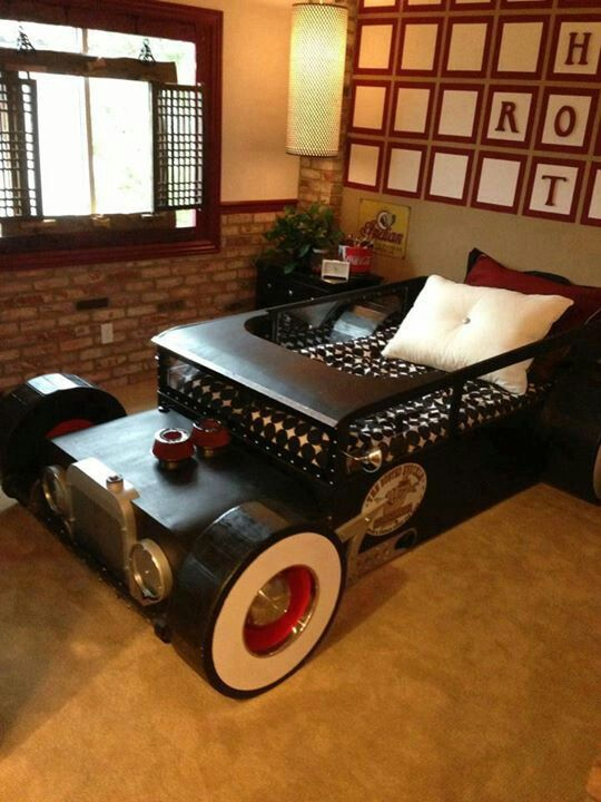 rat rod bed hot rod furniture pinterest bed kid beds and ideas rh pinterest com Homemade Wooden Hot Rods Homemade Wooden Rat Rods