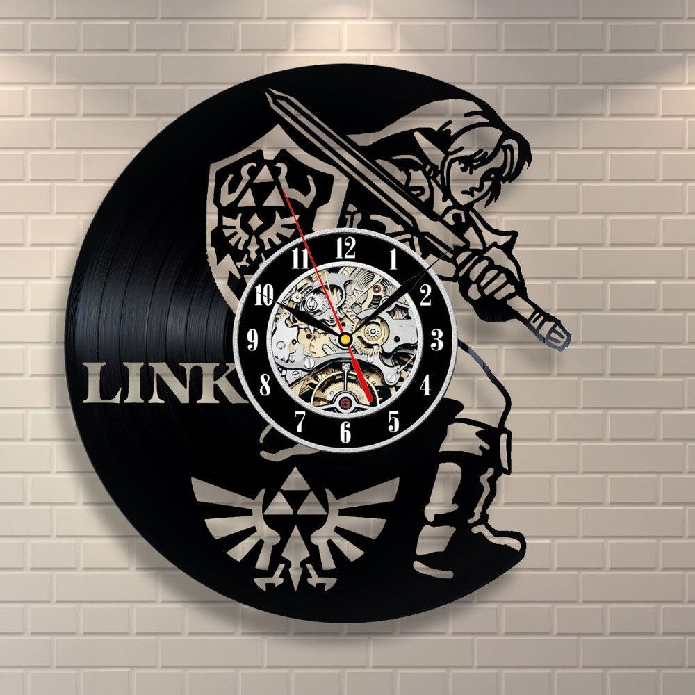 Very cool sign up free and save 5 my cool website pinterest new art cd vinyl record wall clock saat legend of zelda handmade watch black amipublicfo Choice Image