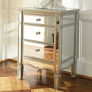 """JCPenny 275$  Accessorize any room with this Versailles chest. Its reflecting mirrors shine light to dark corners.  Versailles chest measures 20x16x28""""H.  ...  more info"""