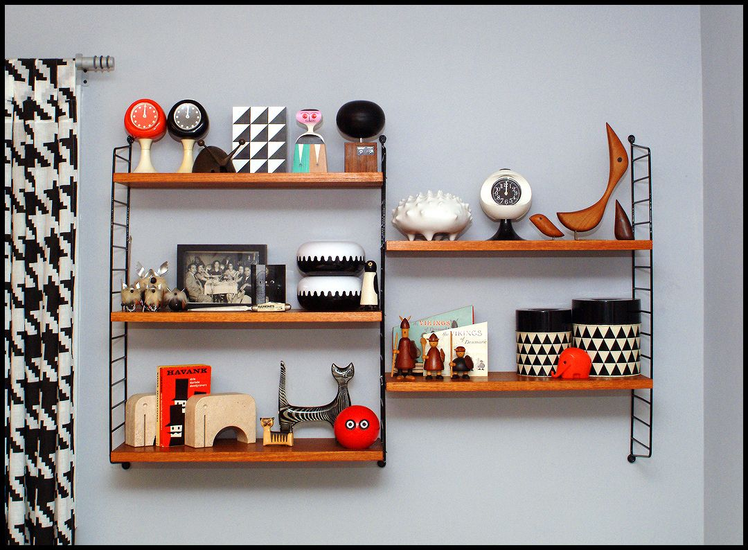 Regal Bunt String Shelves Designed In 1949 By Nils And Kajsa Strinning