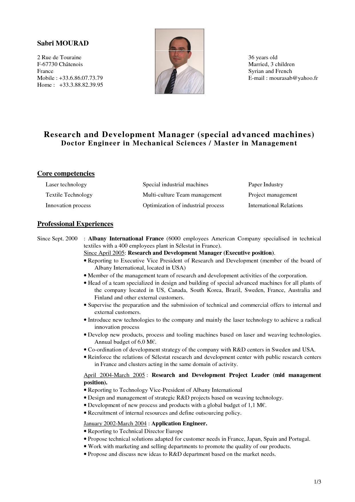 Cv Template Research Resume Format Informative Essay Cv Template Research Scientist
