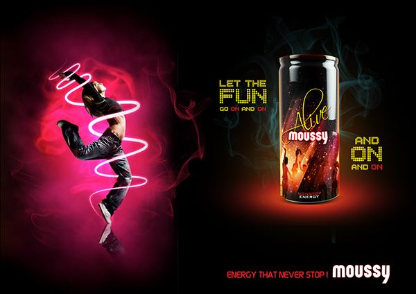 Moussy Energy Drink New Product On Behance Energy Drinks Design Drinks