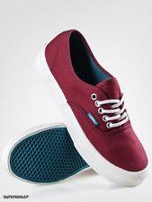 Vans AUTHENTIC SLIM (Pop) Cordovan/Deep Lake Unisex Shoes (8.5 Men - 10 Women)