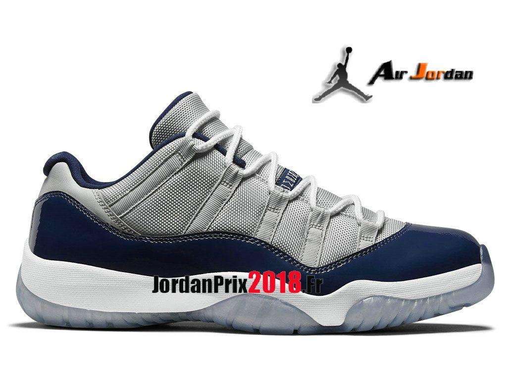 Chaussures Baskets Jordan Prix Pour Homme Air Jordan 1 XI Retro Low  528895-007-