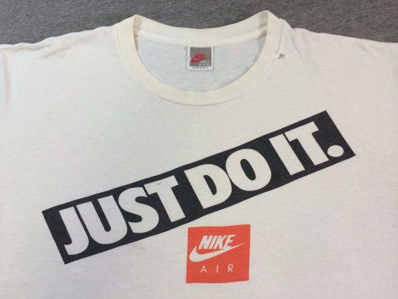 Vintage Nike Shirt 90 S Original Just Do It Box By Sweetvtgtshirt Retro Shirts Nike Shirts Shirt Designs