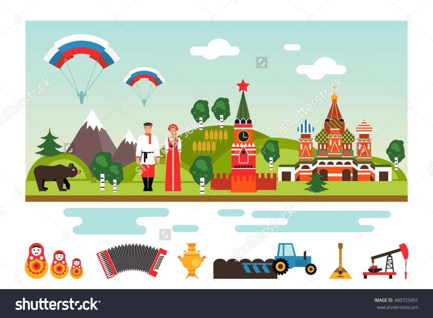 Famous Landmarks And National Symbols Of Russia Welcome To Russia