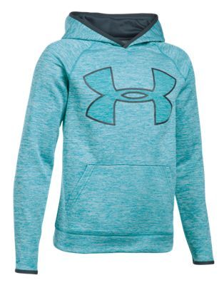 b5f67b3d4572 Under Armour Storm Armour Fleece Twist Highlight Hoodie for Kids - Pacific  - XL
