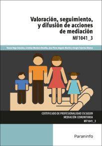 MF1041_3 - Valoración, seguimiento y difusión de acciones de mediación