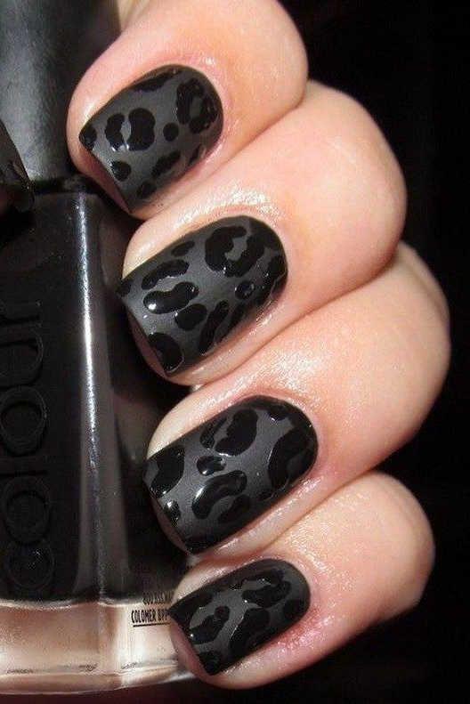 Leopard Nail Art Designs In 2020 Leopard Nail Designs Leopard Nails Leopard Print Nails