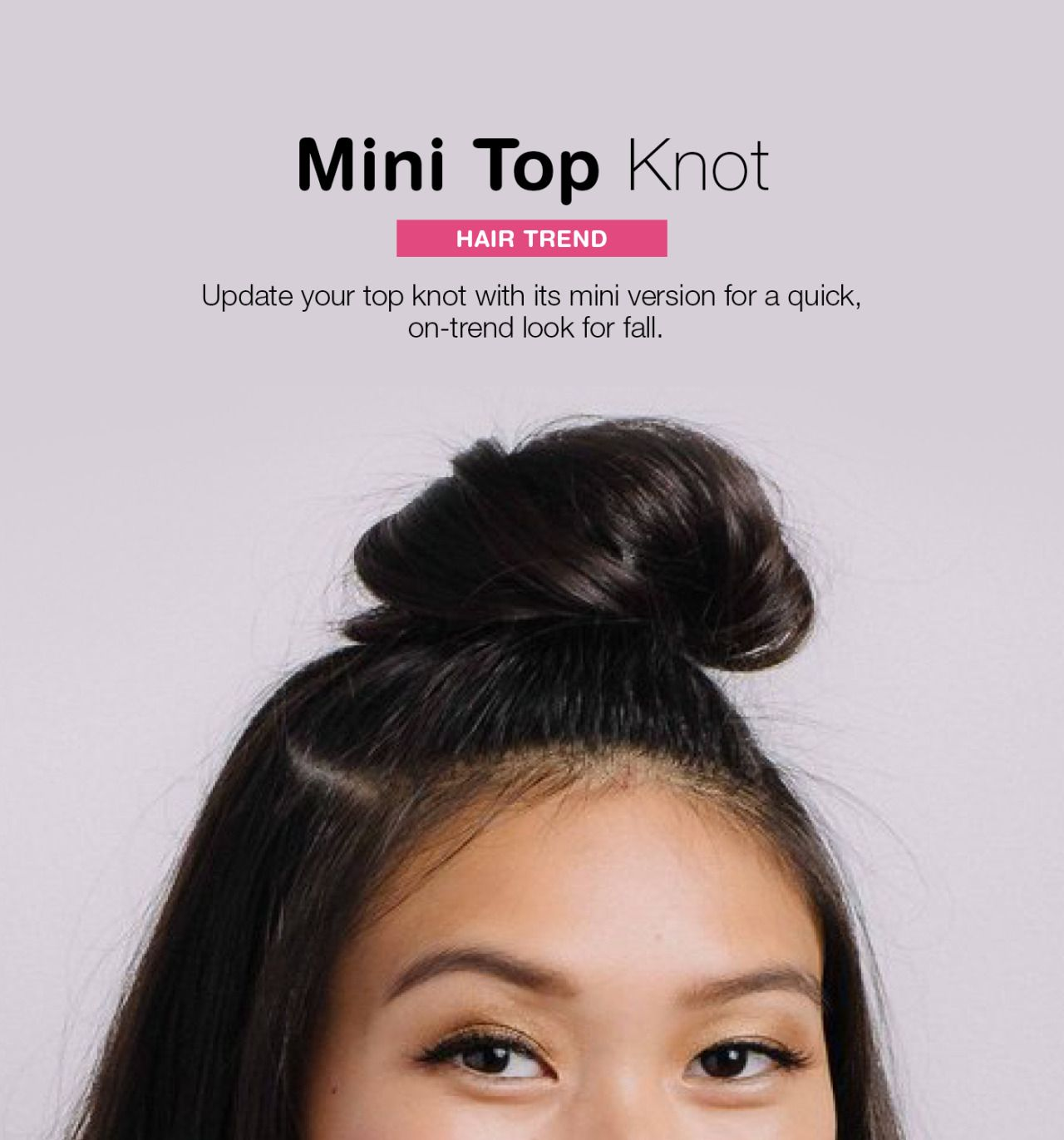 Buybye big olu top knot thereus a mini version walgreens be