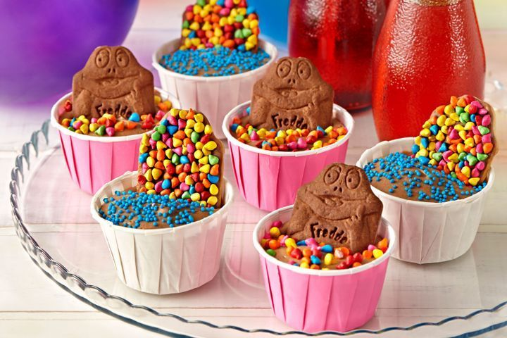 Freddo biscuit in chocolate mousse pond recipe sweet