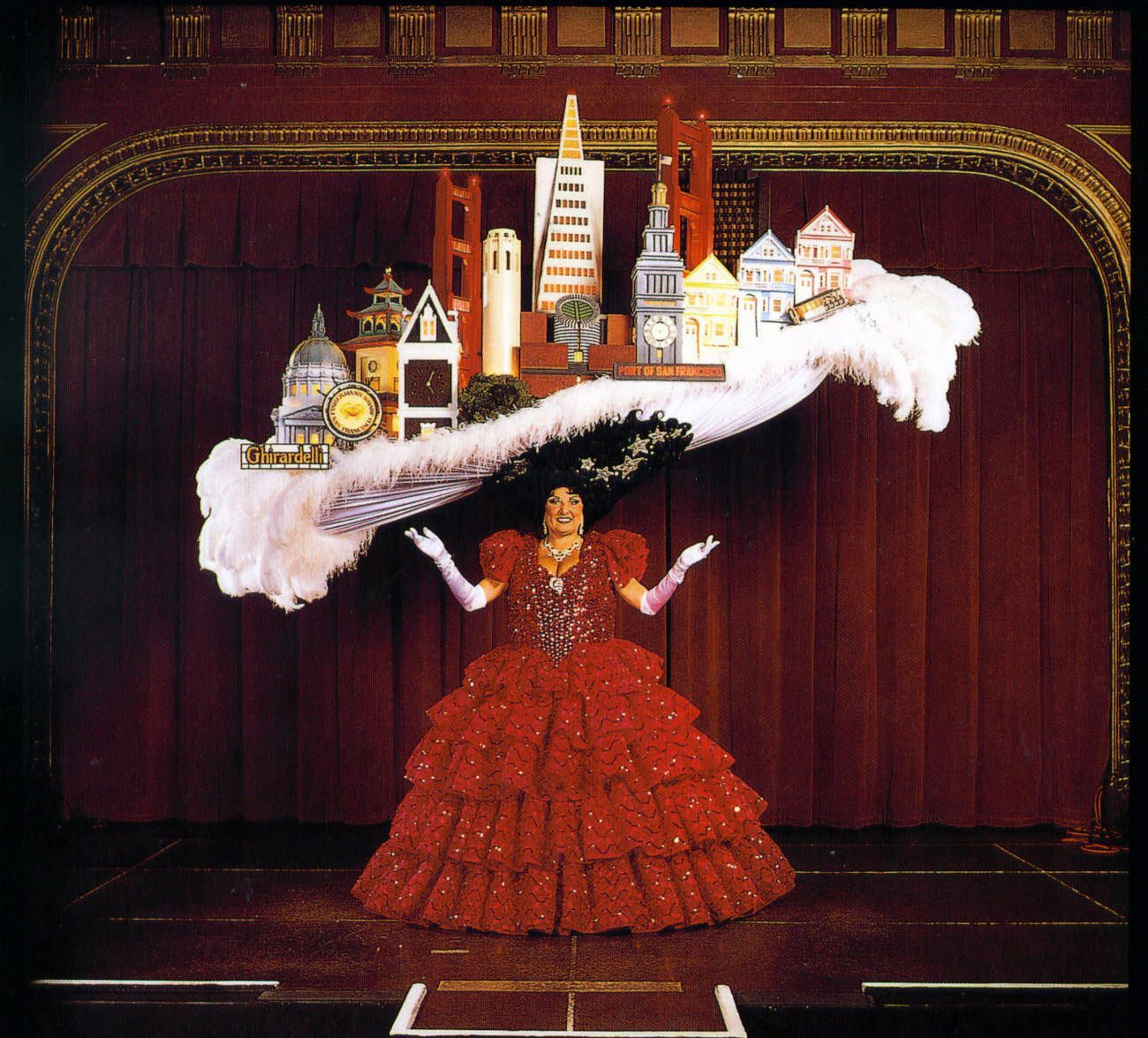 Beach Blanket Babylon San Francisco Production That Has Been Running For Many Years Theater