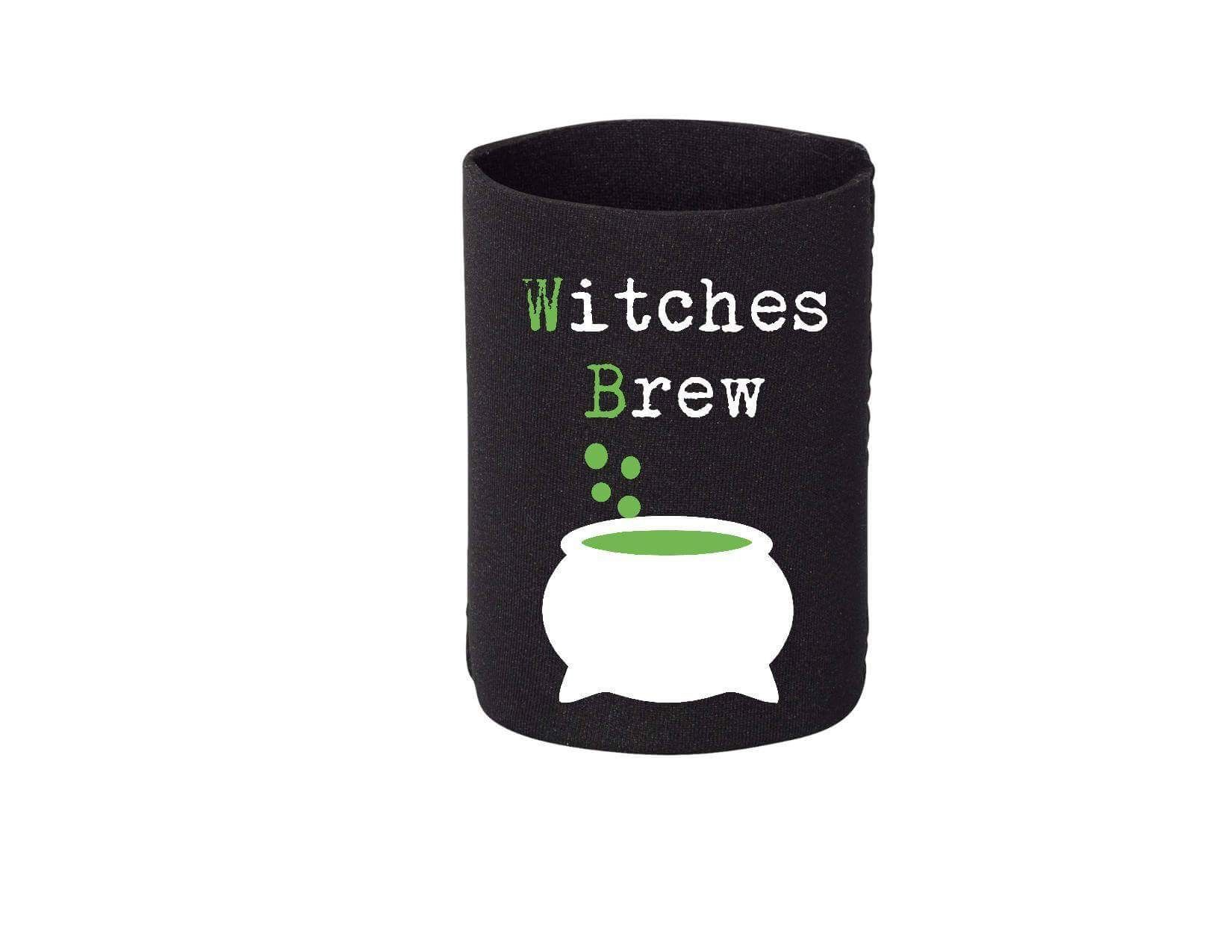 Witches Brew beer Koozie. Halloween Koozie. Bottle and can Koozie ...