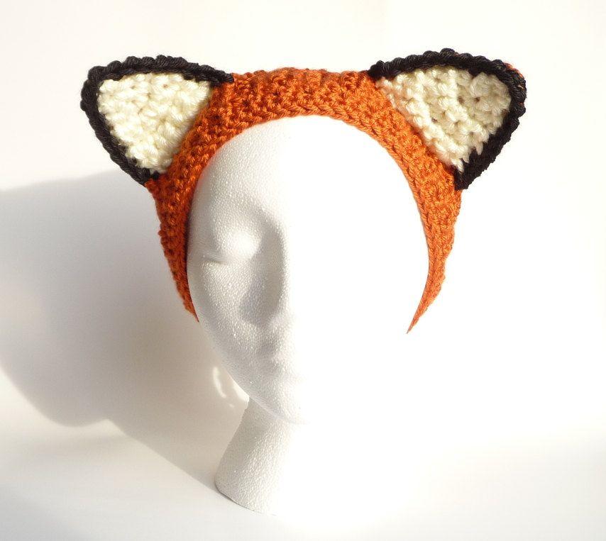Crochet Earwarmer Pattern CROCHET PATTERN Ear Warmer Headband Animal ...